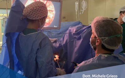 Intervento di escissione di cancro del retto con approccio transanale (anche detto TAMIS)
